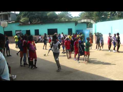 Matam Volunteer Day at Bobeles School.MP4, Conakry,Guinea, West Africa