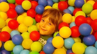 Kids playing in Ball Pool - Funny time
