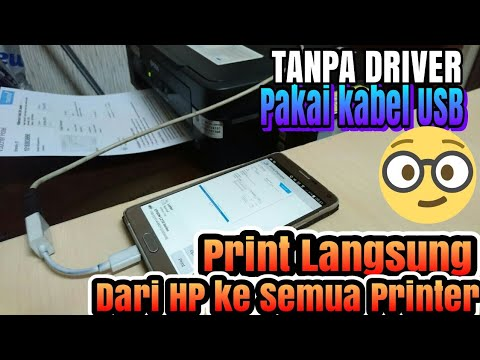 Cara Install Driver Printer EPSON L120.