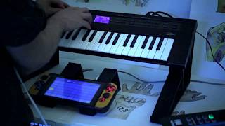 Korg Gadget for Nintendo Switch, live synth jam w/ Yamaha Reface DX: phase II