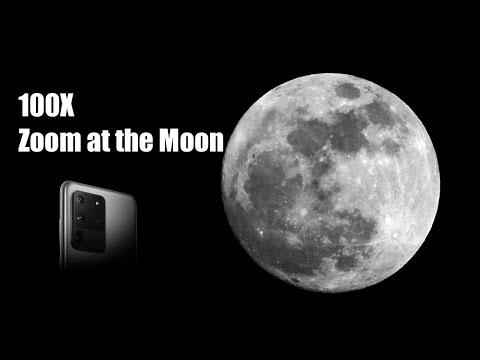 Samsung Galaxy S20 Ultra 100x ZOOM TEST Rumor | S20 Ultra 100x Zoom Moon