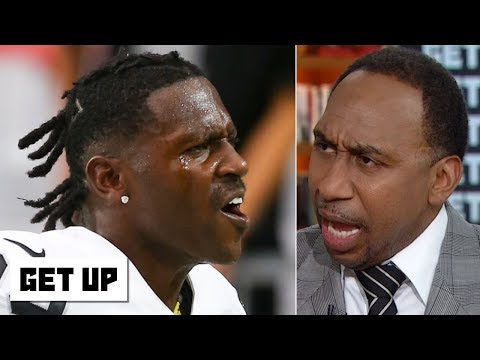 The Morning Madhouse - Stephen A.'s Antonio Brown rant: He's a disgrace,  and should be ashamed
