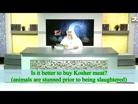 Ruling On Stunned Meat And Kosher Meat? - Sheikh Assim Al Hakeem