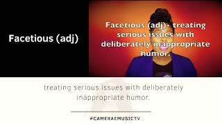 Word of the Day: Day 194 #Facetious #1postaday