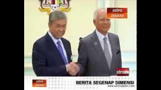 Ahmad Zahid Hamidi dijangka dahului angkat sumpah di Istana Negara