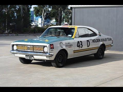1969 Holden HT GTS 350 - Peter Brock's HDT Bathurst Monaro Race Car