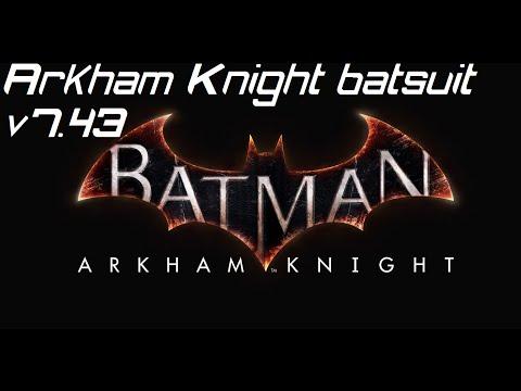 Batman Arkham Knight Batsuit v7.43 Cosplay tutorial trailer