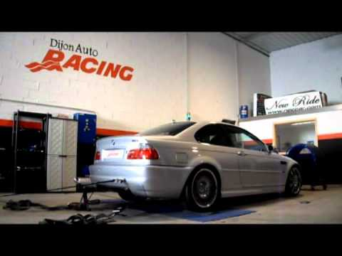 Passage au banc bmw m3 e46 dijon auto racing for Banc auto
