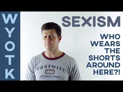 Sometimes Sexism begins with ... Cargo Shorts?