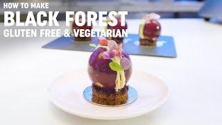 Michelin Star, Gluten Free 'Black Forest' Dessert Recipe from Yauatcha