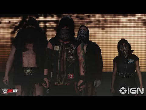 WWE 2k18 OFFICIAL Entrances of SAnitY and The Club! INCLUDING 47 CONFIRMED SUPERSTARS! (BOBBY ROODE)