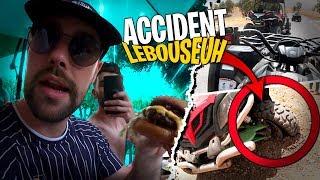 Mon premier Burger au Maroc ! Accident de Lebouseuh en buggy... #3