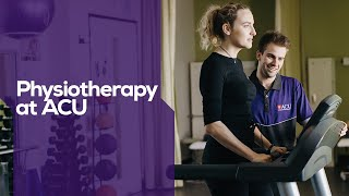 Physiotherapy at ACU