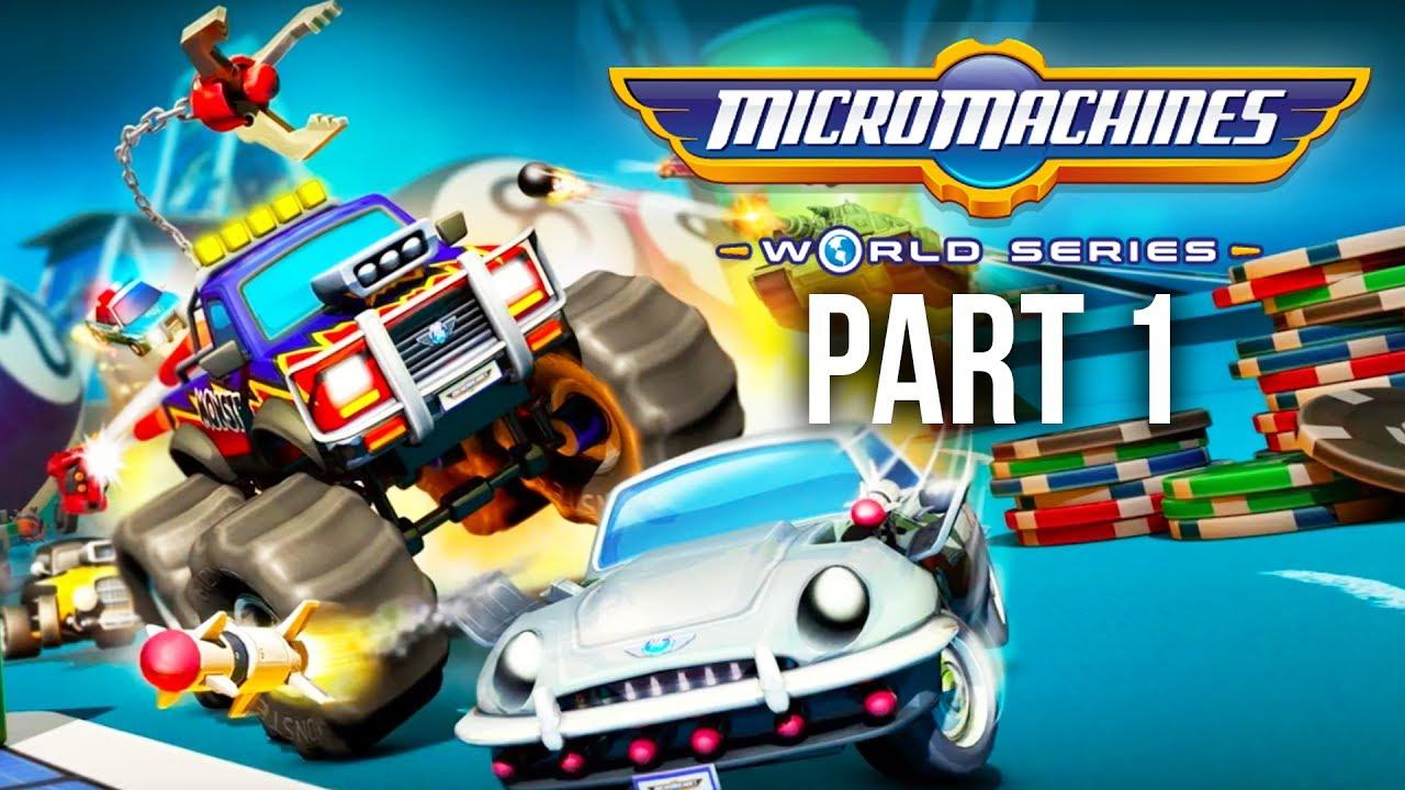 Micro Machines World Series Gameplay Walkthrough Part 1 The Nostalgia Ps4 Full Game Youtube