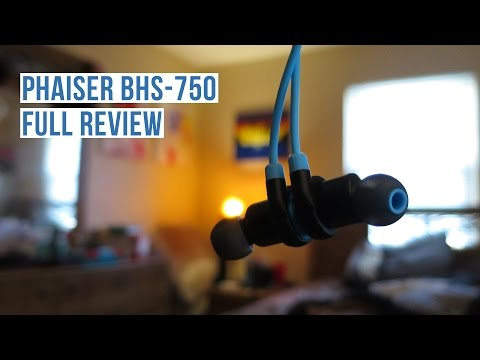 Phaiser BHS-750 Bluetooth Headphones Final Thoughts (Full Review)