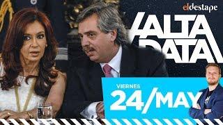 Fernández-Fernández primeros en las encuestas   #AltaData, todo lo que pasa en un toque