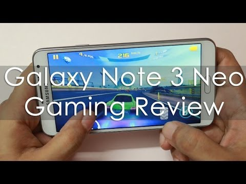 Note 3 Neo Gaming Review - YouTube