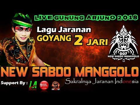 GOYANG DUA JARI (Jaranan) Cover Voc IKA Lovers - NEW SABDO MANGGOLO Live GUNUNG ARJUNO 2018