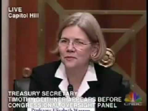 Elizabeth Warren to Geithner: It
