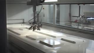 Автоматическая распылительная линия Cefla с роботом-автоматом iBotic и сушильной системой