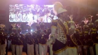 Taruna Akademi Kepolisian Semarang berjoget maumere lagu flores (gemu fa mi re)