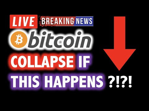 BITCOIN COULD COLLAPSE IF THIS HAPPENS… ?!🎯LIVE Crypto Crash Analysis TA & BTC Cryptocurrency News