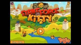 Ударный отряд котят. Онлайн игра про котят.