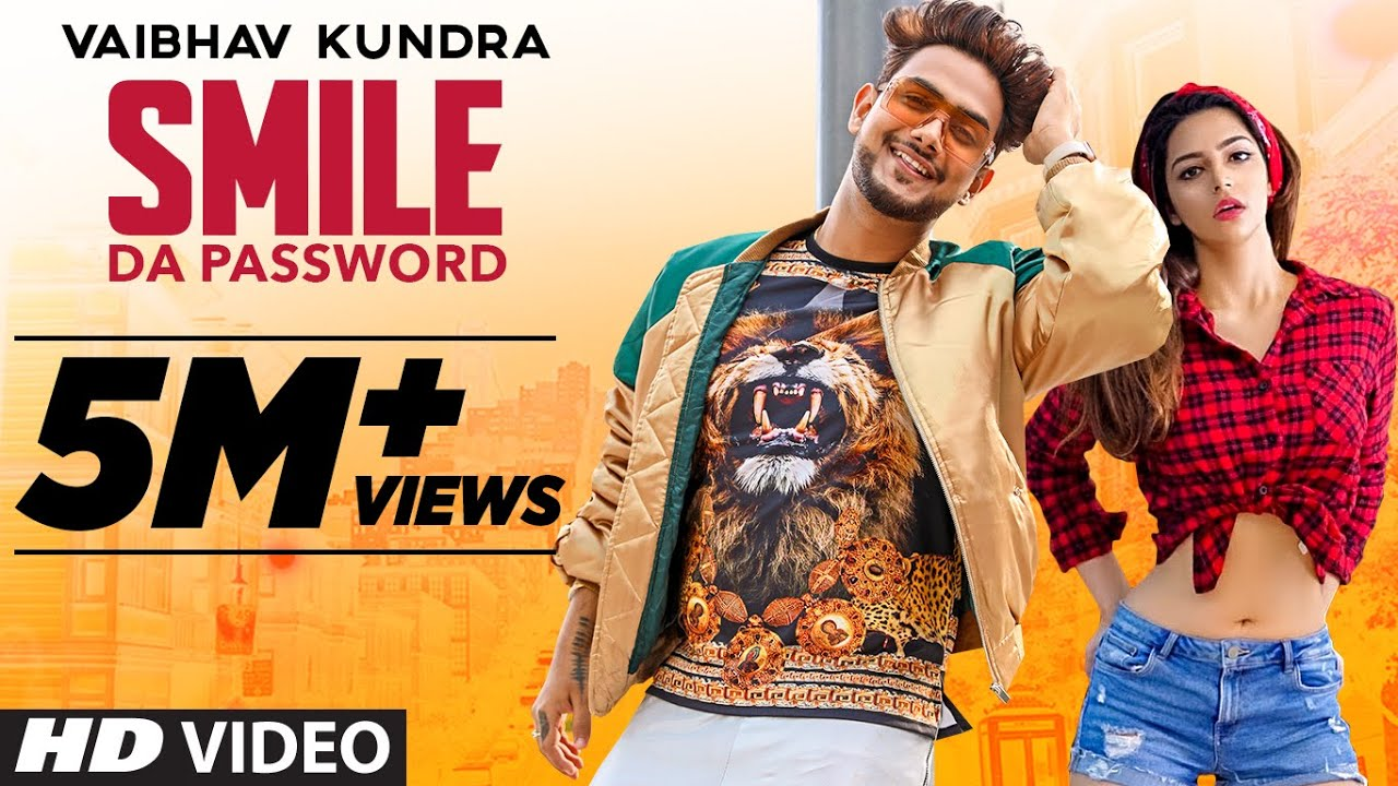 punjabi song smile da password vaibhav kundra latest punjabi songs youtube