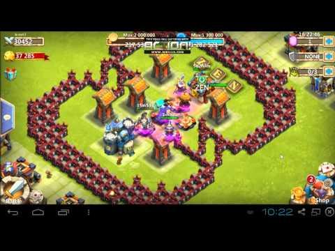 Castle Clash - RF: HBM Without TG