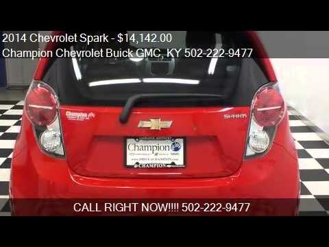 2014 Chevrolet Spark For Sale In La Grange, KY 40031 At The. Champion  Chevrolet Buick GMC