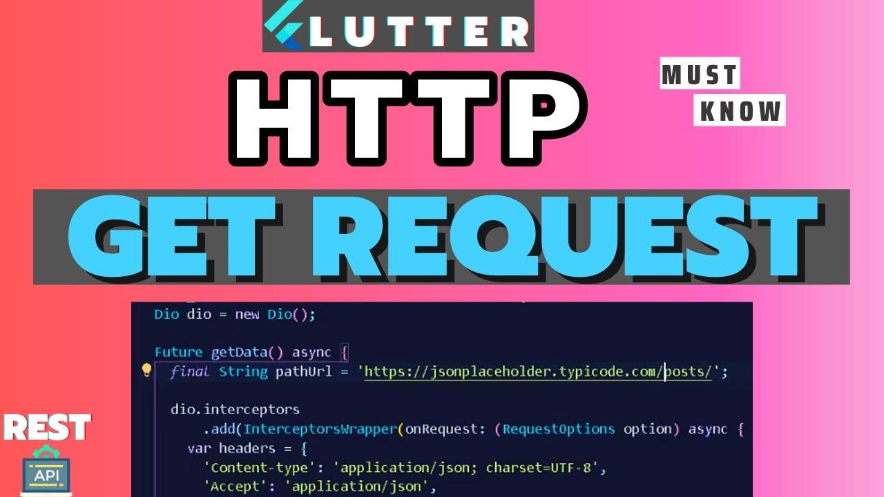 Flutter HTTP Get Request   Receive Data From REST API