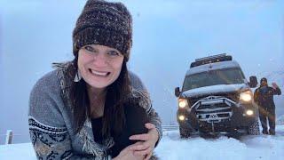 Winter Storms   Van Life Alaska