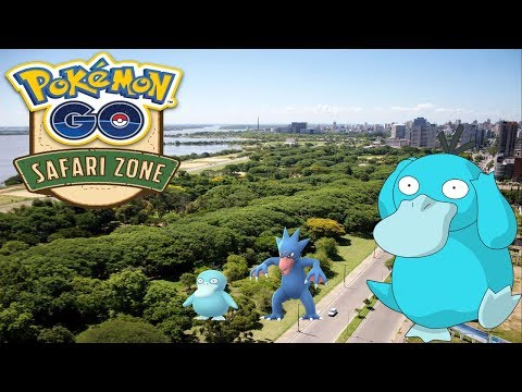 Safari Zone  BRAZIL POKEMON GO Psyduck Shiny thumbnail