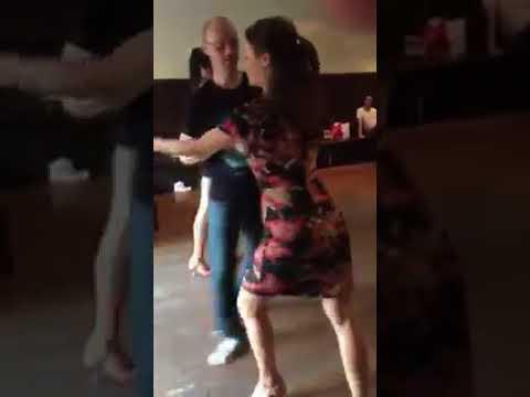 Adelaide Salsa Social Dancing - Samuel and Caitlyn