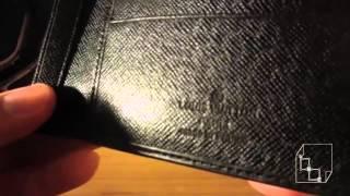 New Louis Vuitton EPI Mens Leather Wallet Review