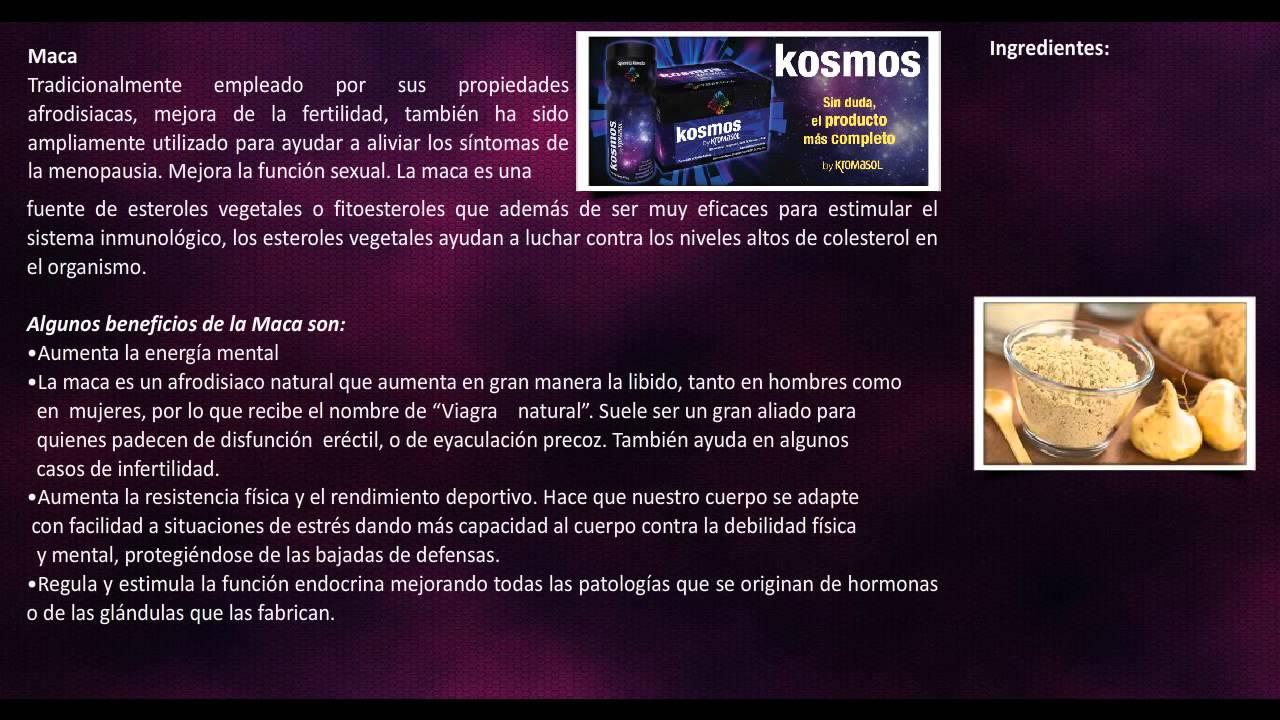 Que Es El KOSMOS by Kromasol Y Para Que Sirve? - YouTube