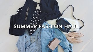 Summer Essentials Fashion Haul 2018, summer 2018 haul, fashion haul, fashion