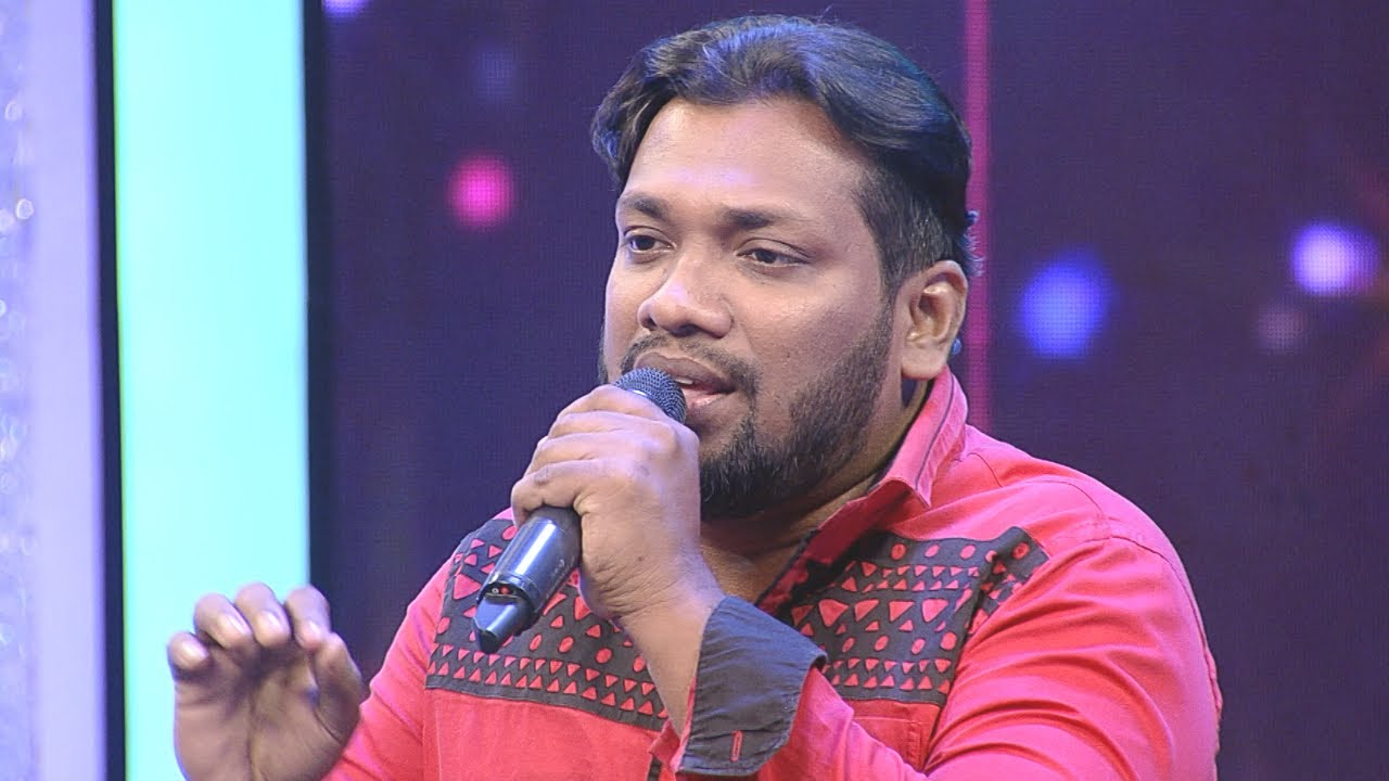 #ThakarppanComedy I Falah Ali with Yesudas's voice... I Mazhavil Manorama