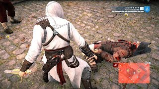 Assassin's Creed Unity Rage Mode On vs  Royals , Guns & Money Ultra Settings