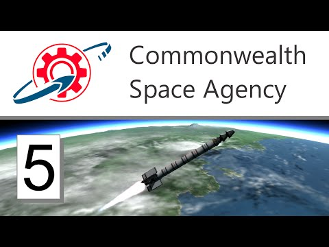 Kerbal Commonwealth Space Agency - 5. Rockets for Hire (KSP 1.0.2)