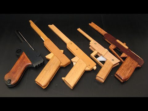 Other rubber band guns (part 1) - YouTube
