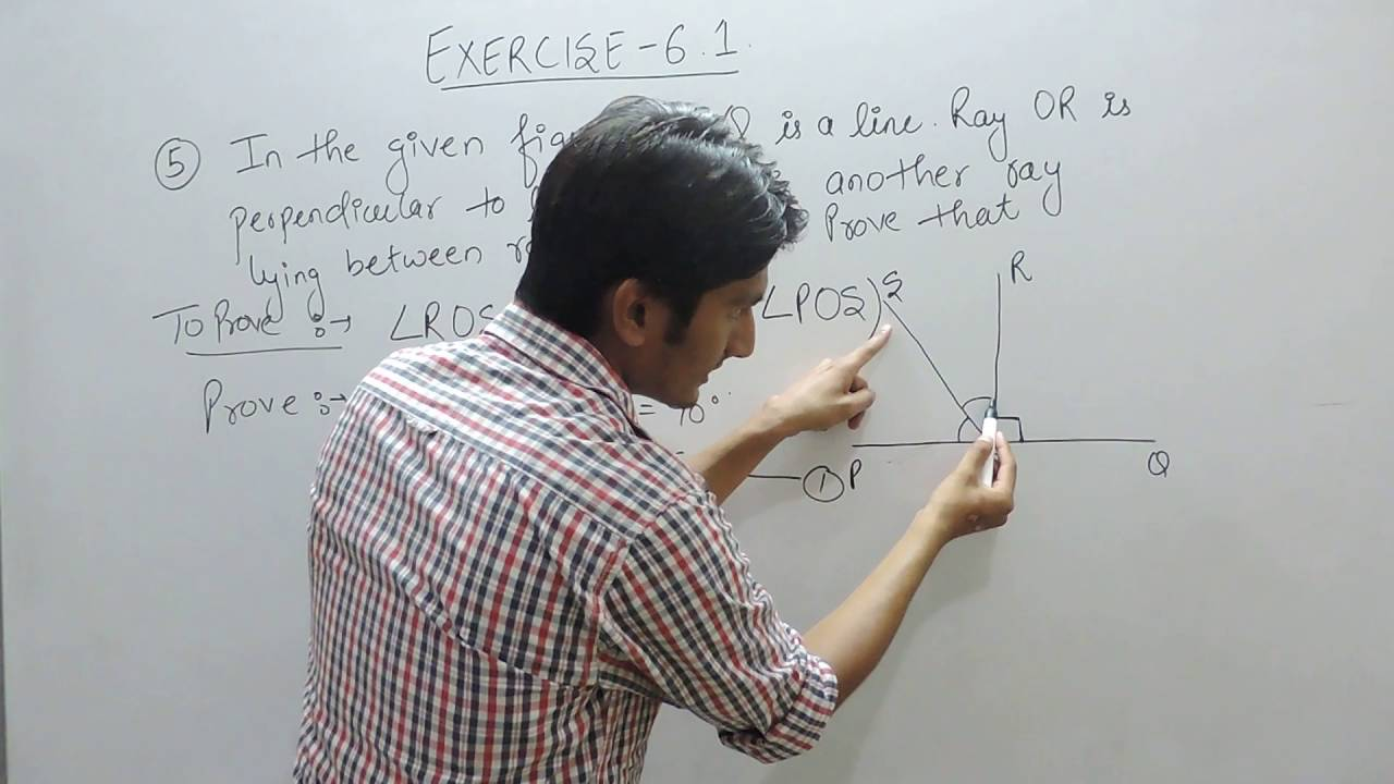 lines and angles 9th maths