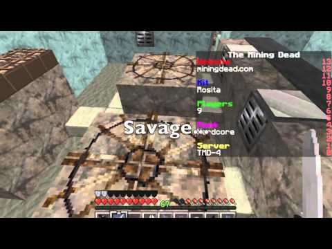 """THE MINING DEAD - EPISODE 1 """"LOOTING BUILDINGS IN A BAD SPAWN!"""""""