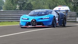Bugatti GT Vision Testing Drive at Red Bull Ring