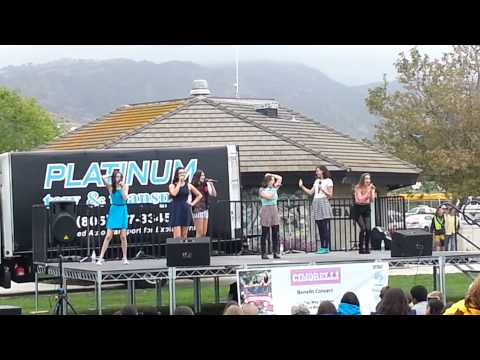 Cimorelli- Renegade Live at the Malibu Bluffs Benefit Concert