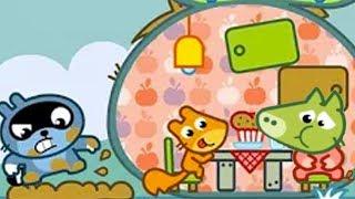 МАЛЫШ Панго и ДРУЗЬЯ ДИСКОТЕКА Хрюша отравился и ОБКАКАЛСЯ Игровой мультик Веселая игра для детей