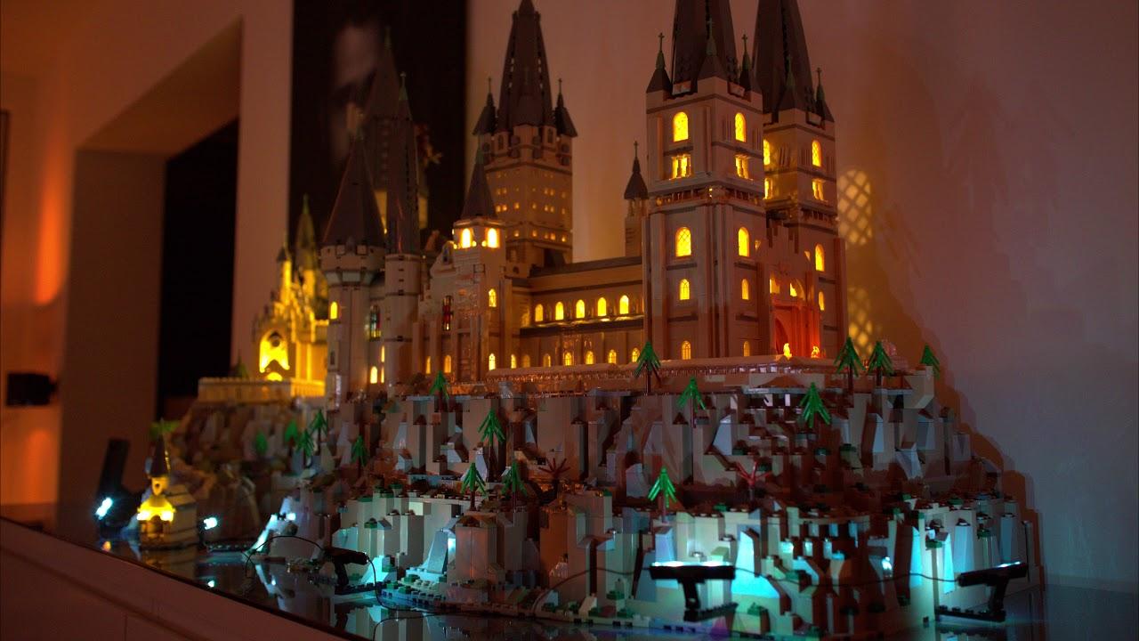 Lego Harry Potter Hogwarts Castle Xxl Mit Led Beleuchtung So Geht S Promobricks