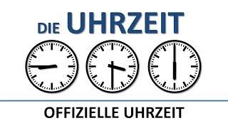 Deutsch lernen die Uhrzeit (offiziell) (deutsche Untertitel)the (official) time