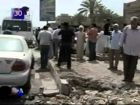 A gunman on motorbike shoots at Yemeni protesters in the coastal town of Hudeida killing one person.