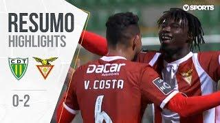 Resumo | Highlights Tondela 0-2 Aves (Liga 18/19 #19)